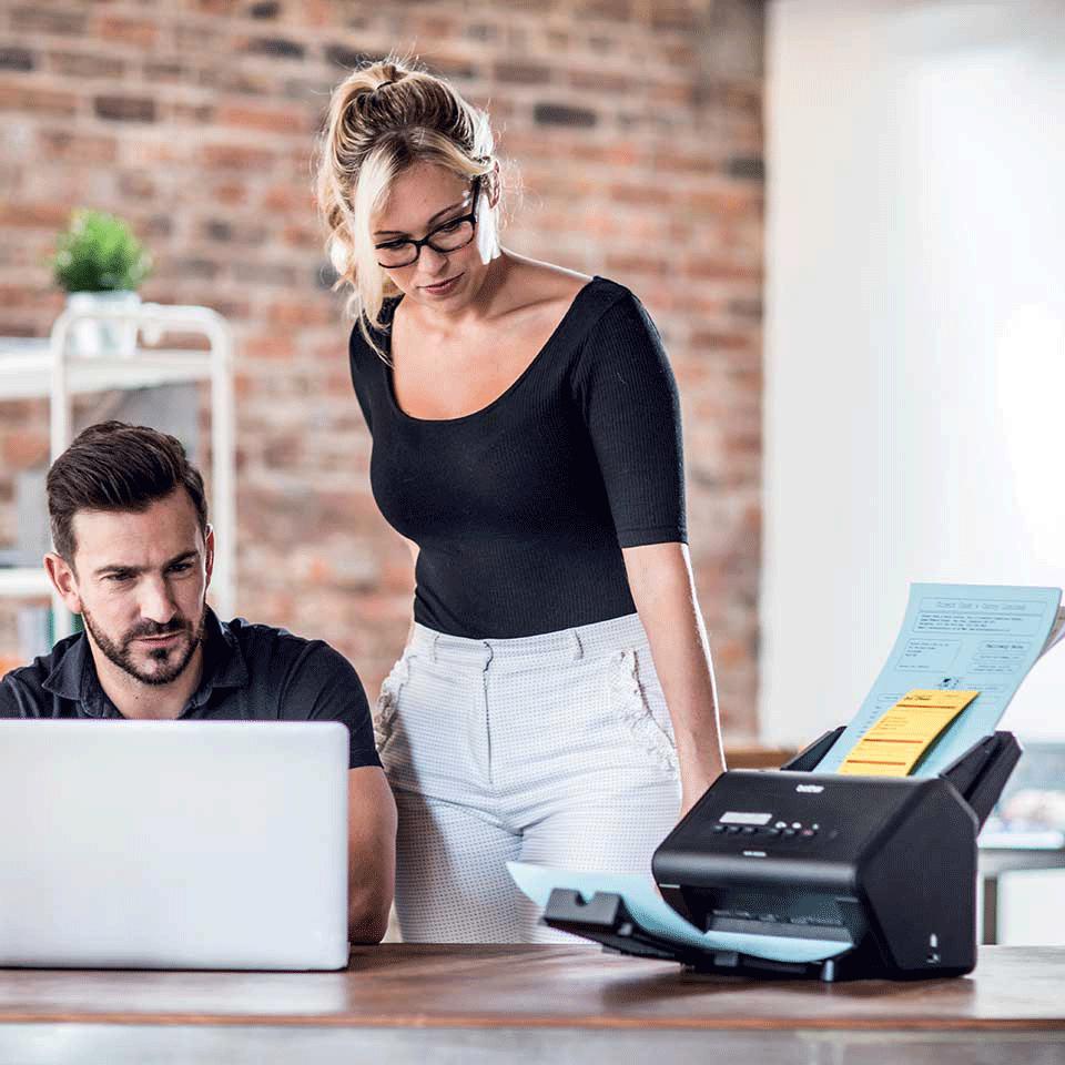 ADS-3000N - nopea asiakirjaskanneri verkkoyhteyksin 5