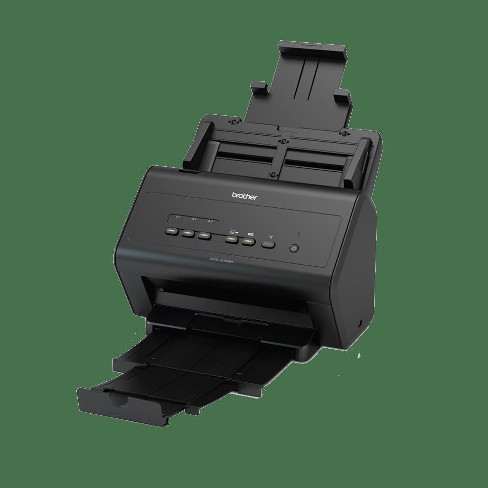 ADS-3000N - nopea asiakirjaskanneri verkkoyhteyksin 2
