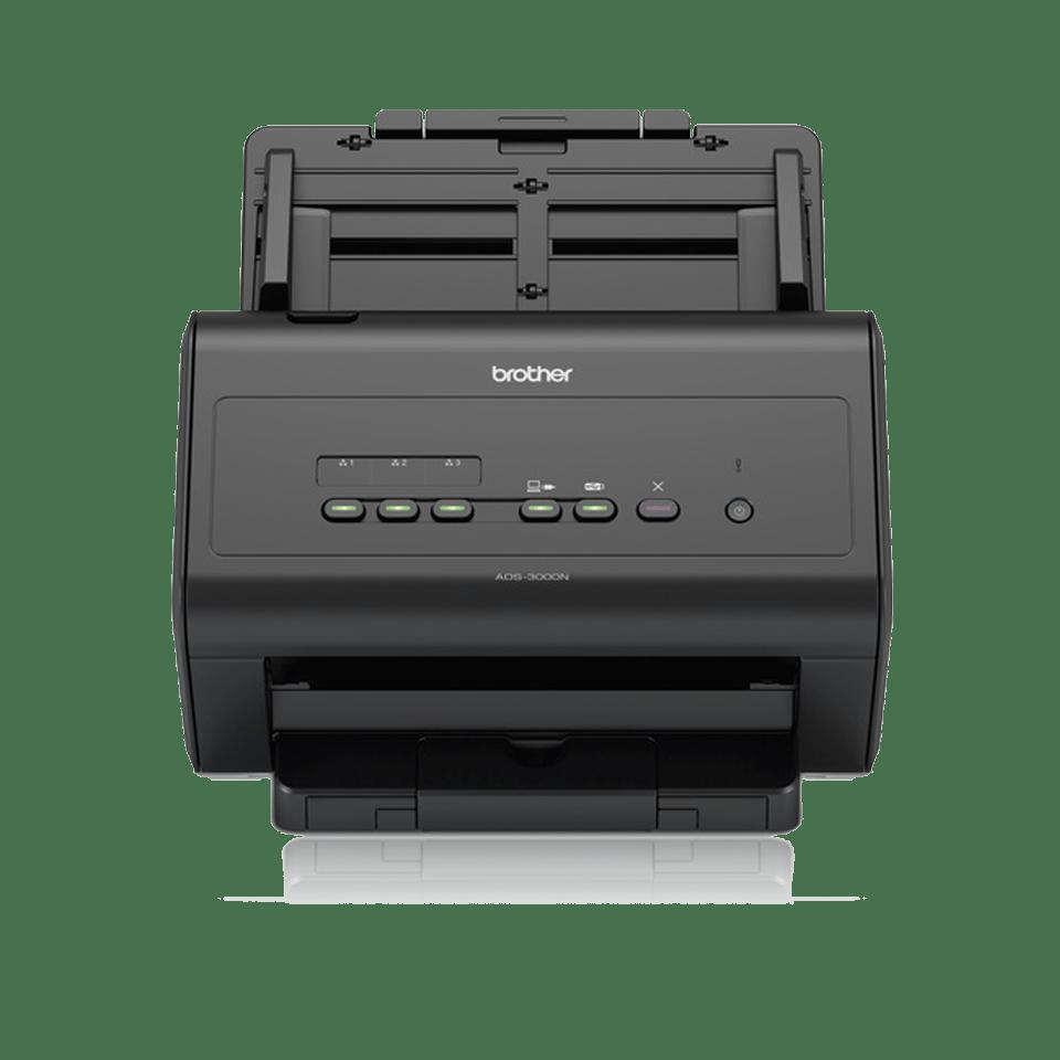 ADS-3000N - nopea asiakirjaskanneri verkkoyhteyksin