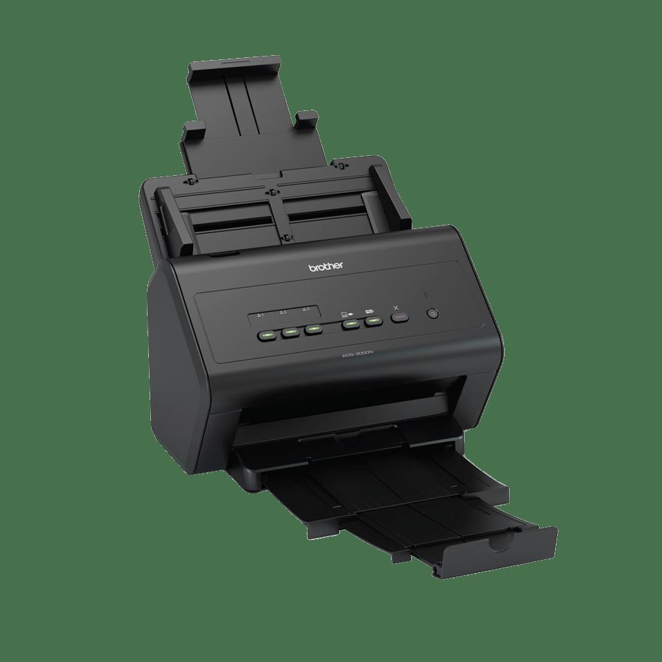 ADS-3000N - nopea asiakirjaskanneri verkkoyhteyksin 3