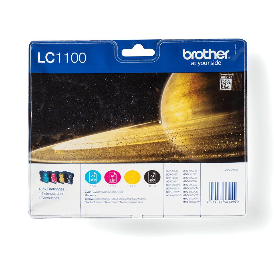 Brotherin alkuperäinen LC1100VALBPDR 4-väripakkaus