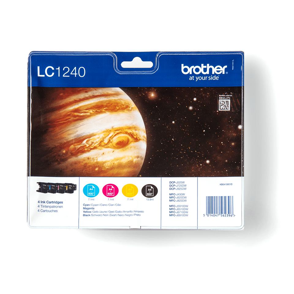 Brotherin alkuperäinen LC1240VALBPDR 4-väripakkaus