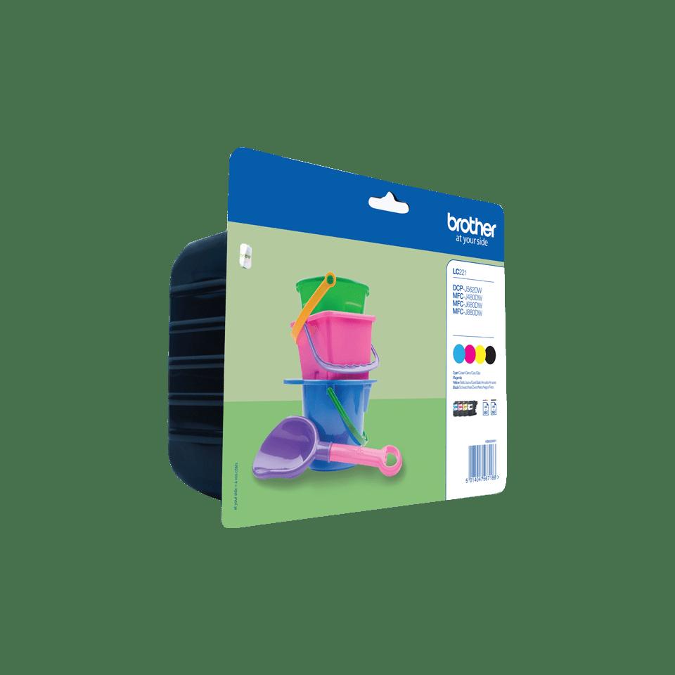 Brotherin alkuperäinen LC221VALBPDR 4-väripakkaus 2