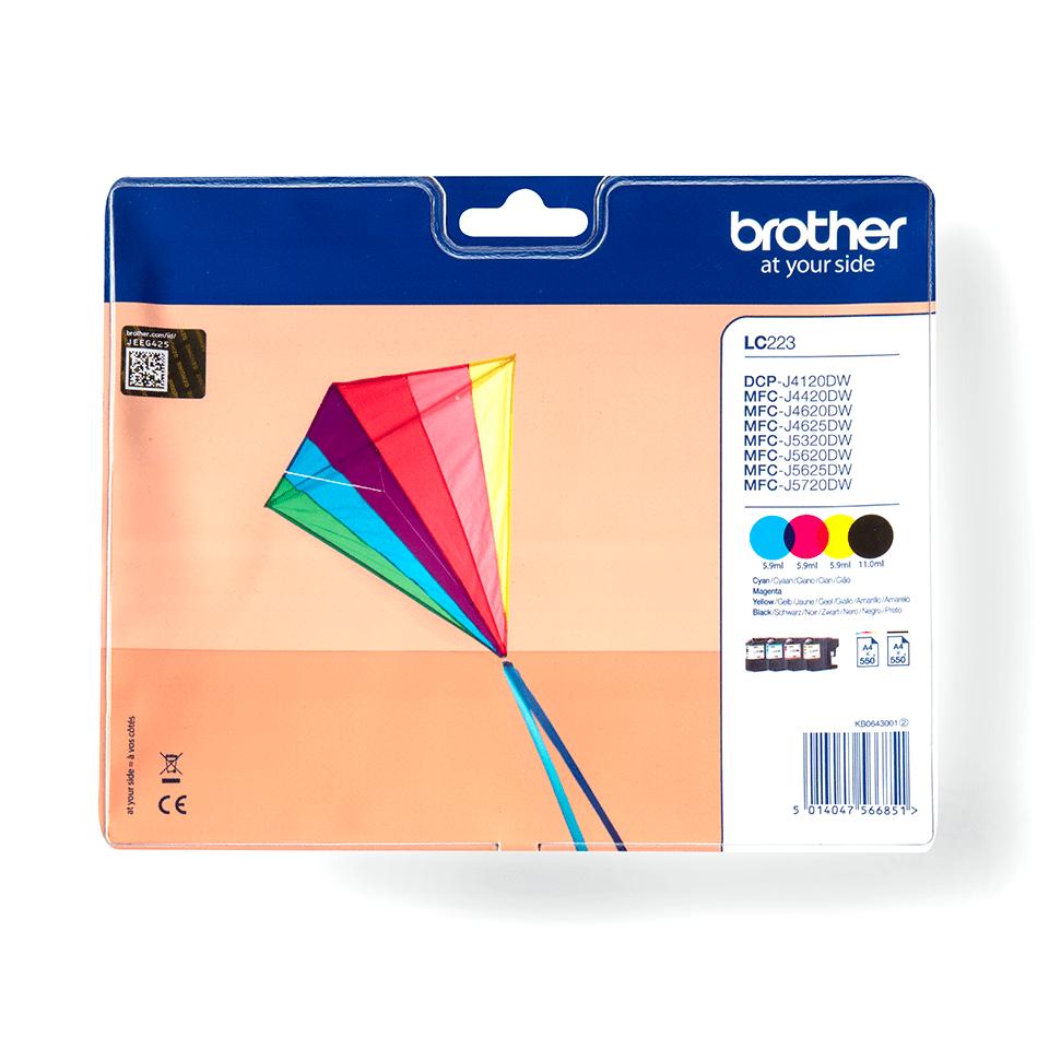 Brotherin alkuperäinen LC223VALBPDR 4-väripakkaus