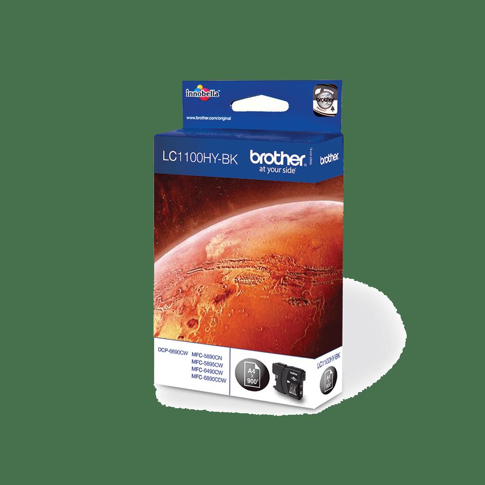 Brotherin alkuperäinen LC1100HYBK suurvärikasetti – Musta 2