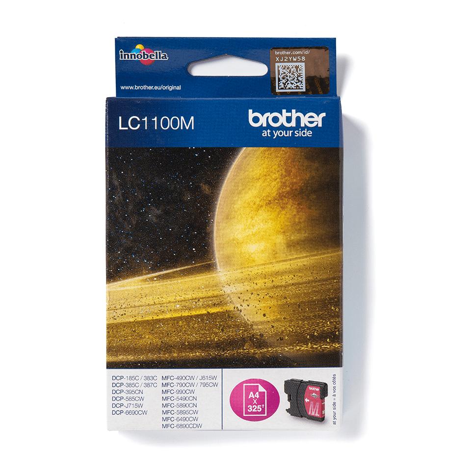 Brotherin alkuperäinen LC1100M värikasetti – Magenta