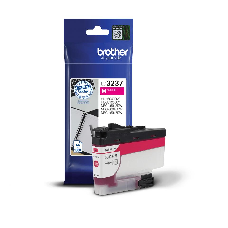 Brotherin alkuperäinen LC3237M-värikasetti – Magenta 3