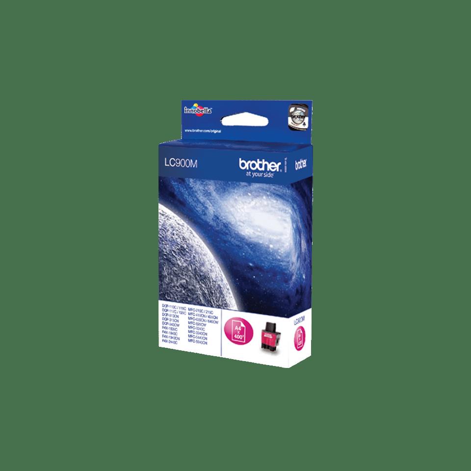 Brotherin alkuperäinen LC900M-värikasetti – Magenta 2