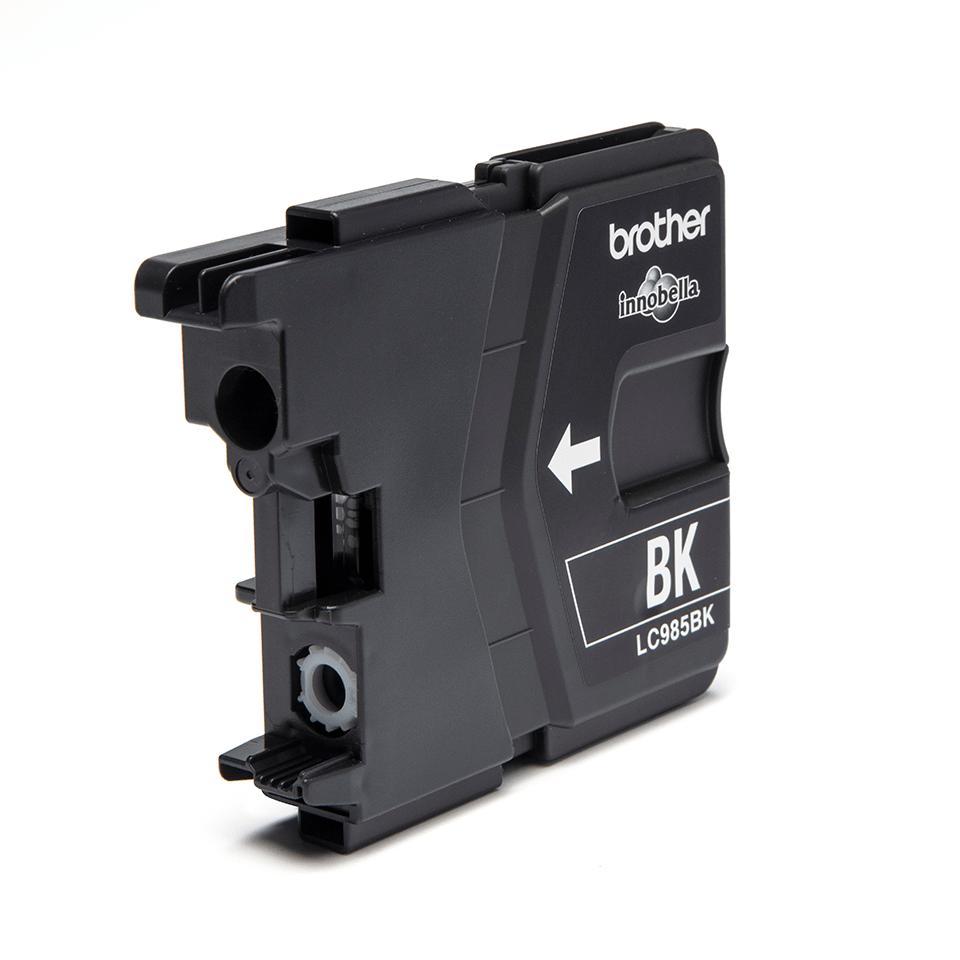 Brotherin alkuperäinen LC985BK-värikasetti – Musta 2