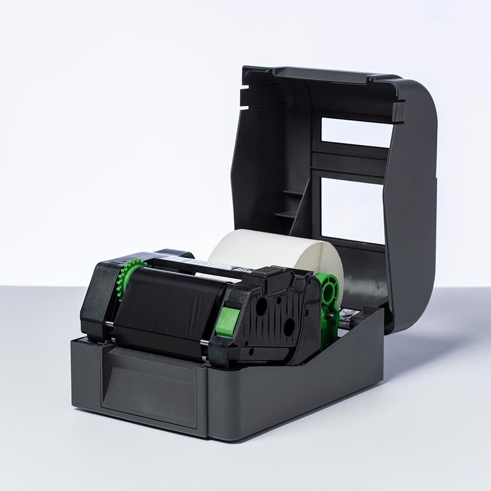 BSP-1D300-110 - Musta premium-vaha/hartsi siirtovärinauha 2