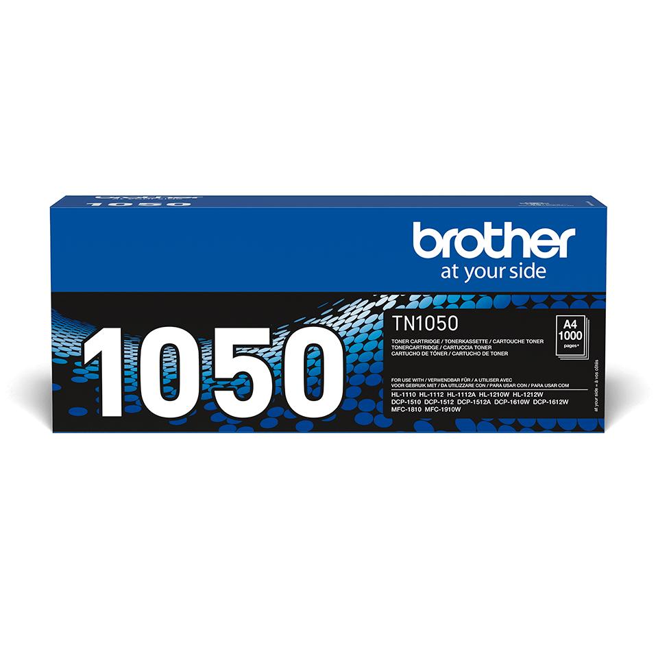 Brotherin alkuperäinen TN1050 värikasetti - Musta