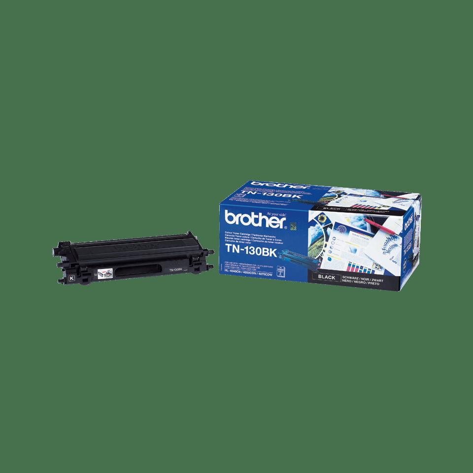 Brotherin alkuperäinen TN130BK-laservärikasetti – Musta 2