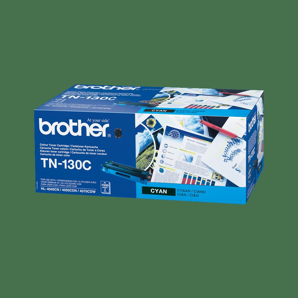 Brotherin alkuperäinen TN130C-laservärikasetti – Syaani
