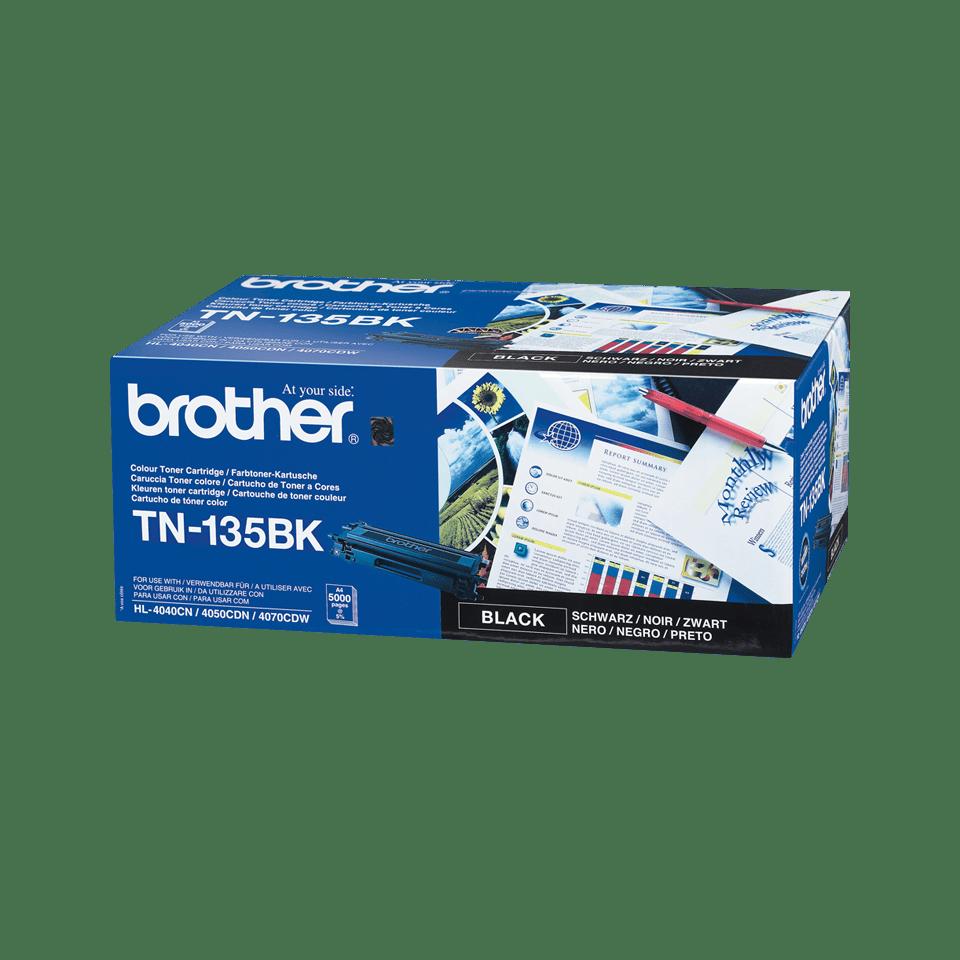 Brotherin alkuperäinen TN135BK-laservärikasetti – Musta
