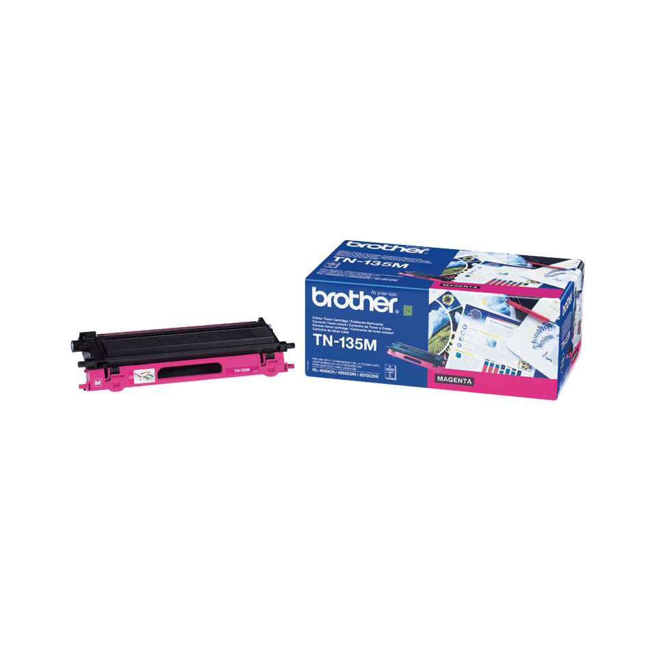 Brotherin alkuperäinen TN135M-laservärikasetti – Magenta