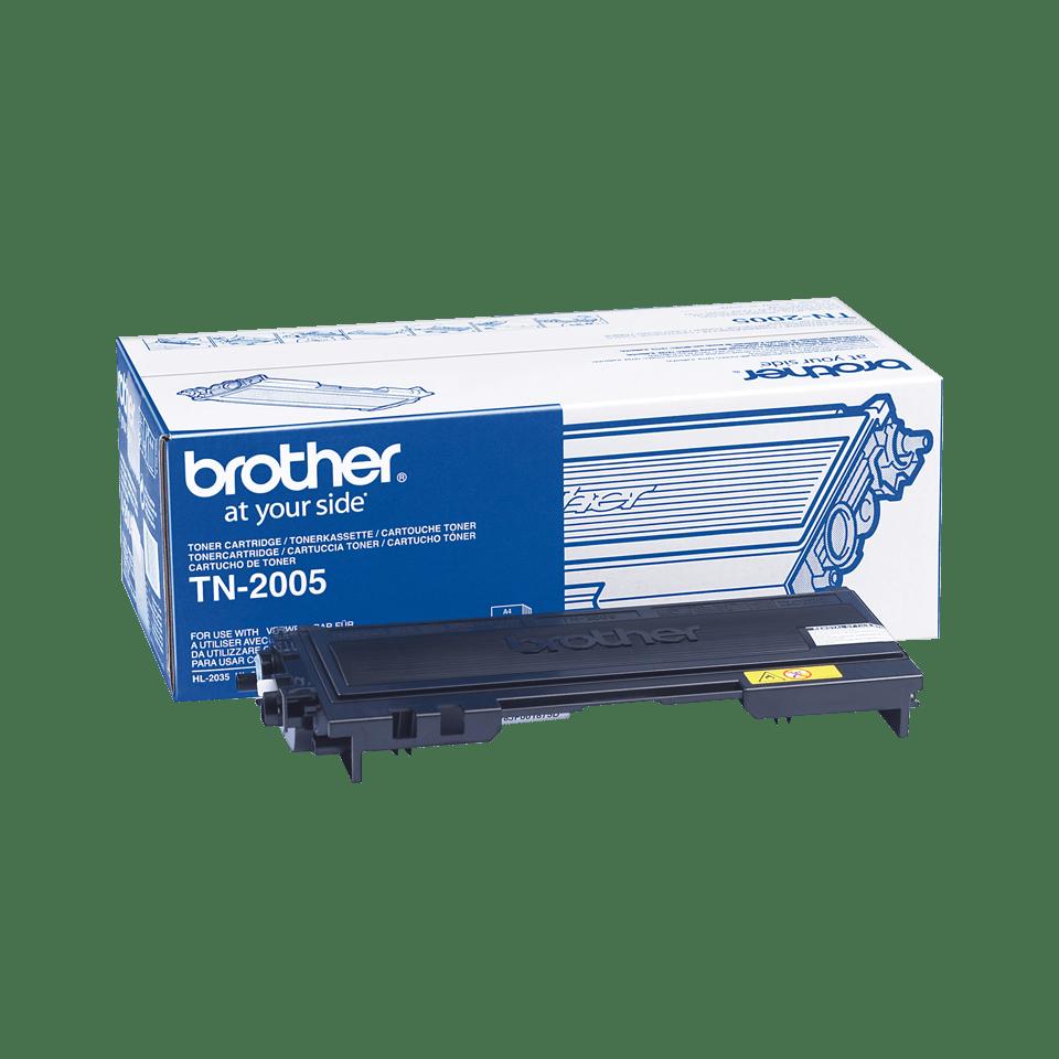 Brotherin alkuperäinen TN2005-laservärikasetti – Musta