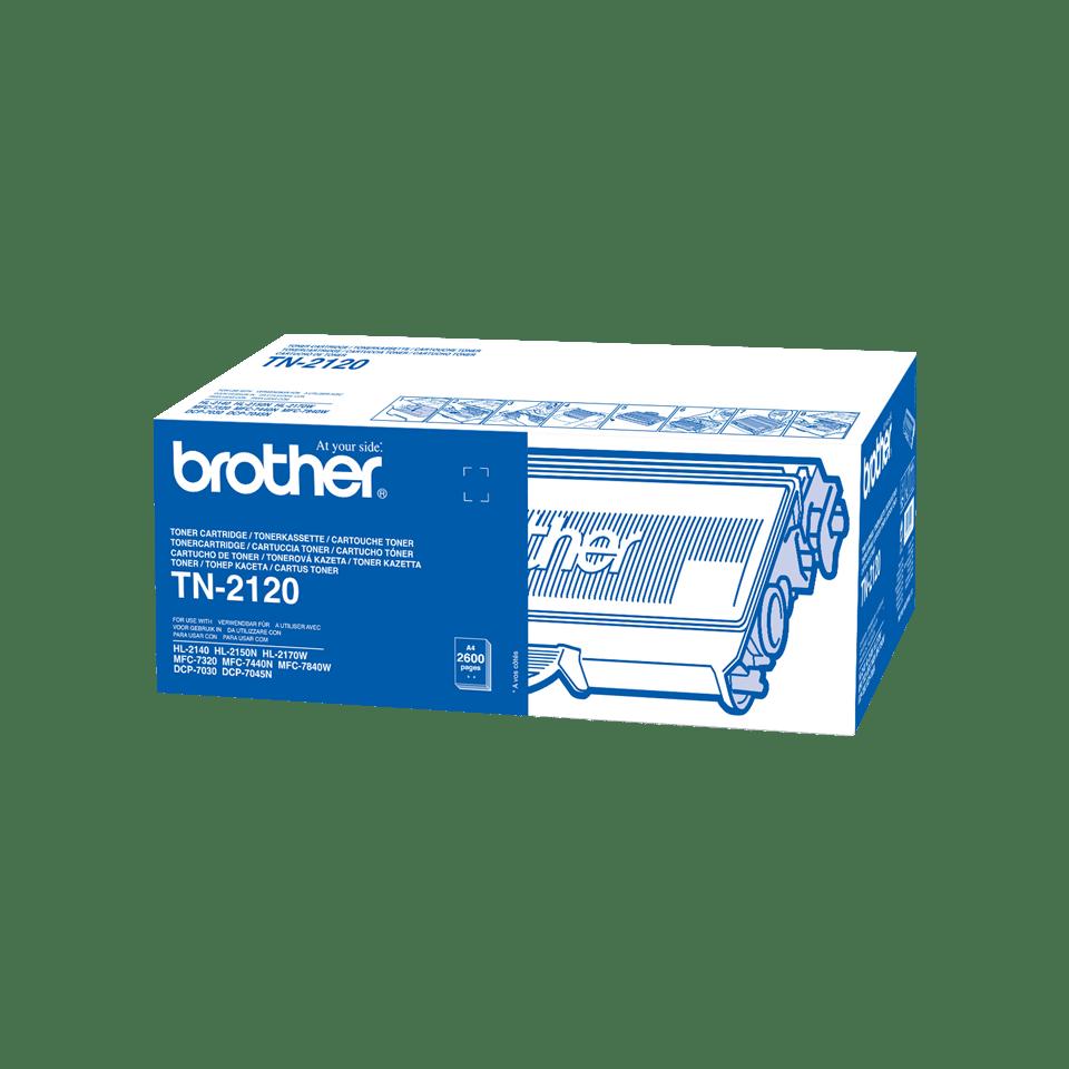 Brotherin alkuperäinen TN2120-suurvärikasetti - Musta