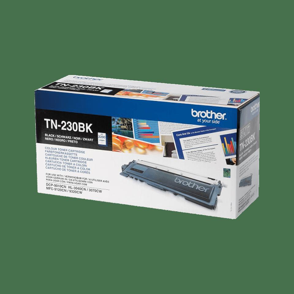 Brotherin alkuperäinen TN230BK-laservärikasetti - Musta