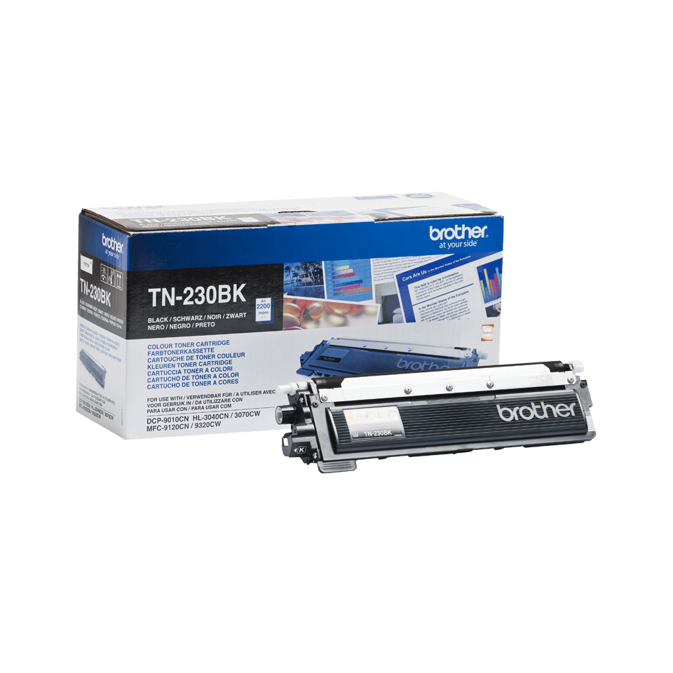 Brotherin alkuperäinen TN230BK-laservärikasetti - Musta 2