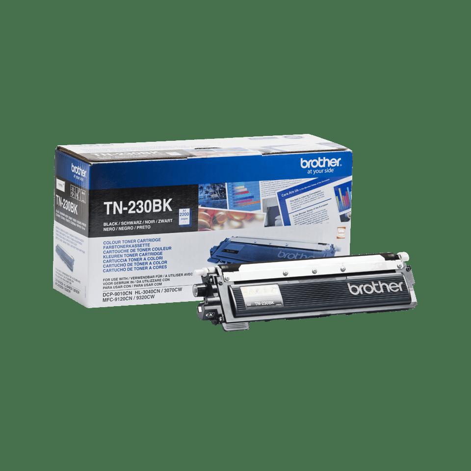 Brotherin alkuperäinen TN230BK laservärikasetti - Musta
