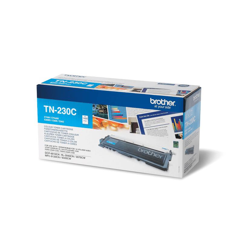 Brotherin alkuperäinen TN230C-laservärikasetti - Syaani