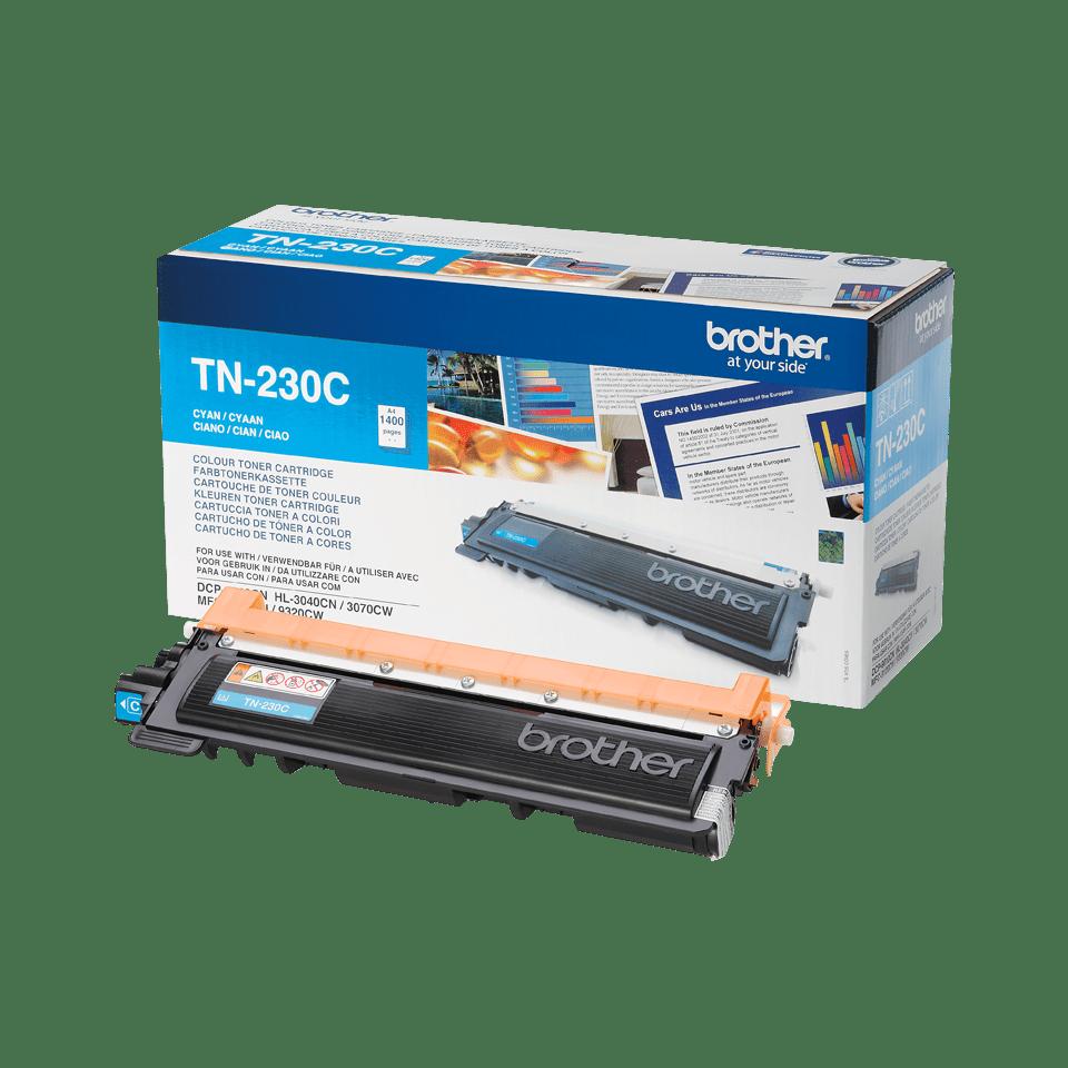 Brotherin alkuperäinen TN230C-laservärikasetti - Syaani 2