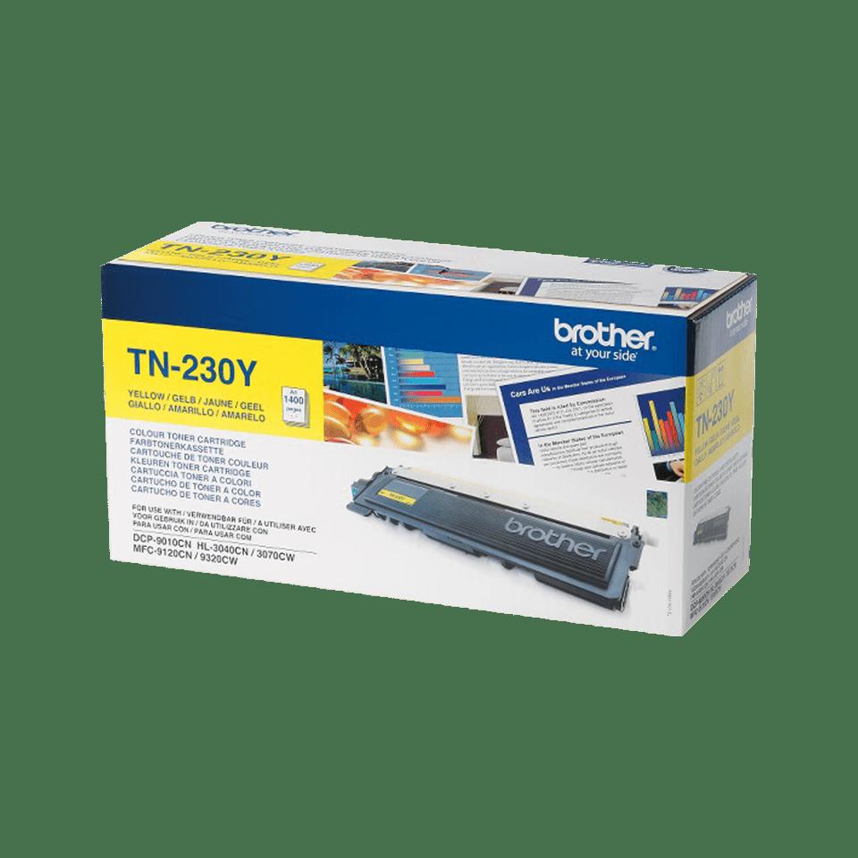 Brotherin alkuperäinen TN230Y-laservärikasetti – Keltainen