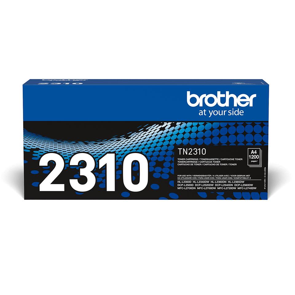 Brotherin alkuperäinen TN2310-laservärikasetti - Musta