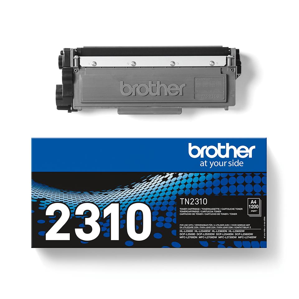 Brotherin alkuperäinen TN2310-laservärikasetti - Musta 2