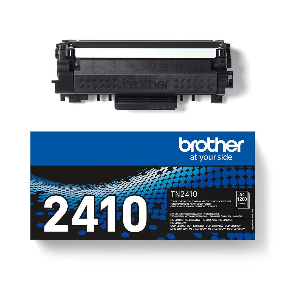 Brotherin alkuperäinen TN2410-laservärikasetti - Musta 2