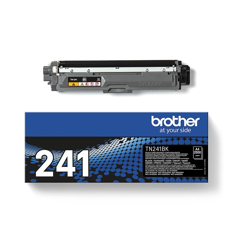 Brotherin alkuperäinen TN241BK-laservärikasetti - Musta 2
