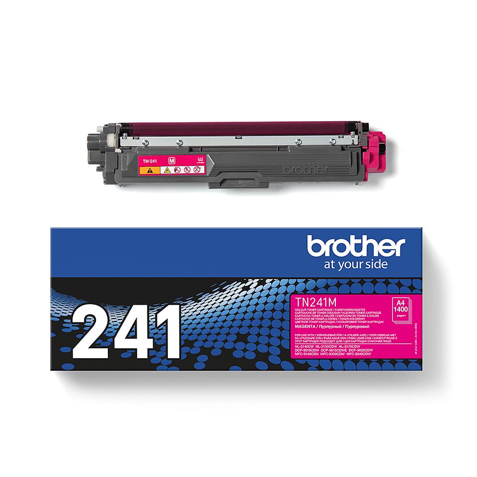 Brotherin alkuperäinen TN241M-laservärikasetti – Magenta 3