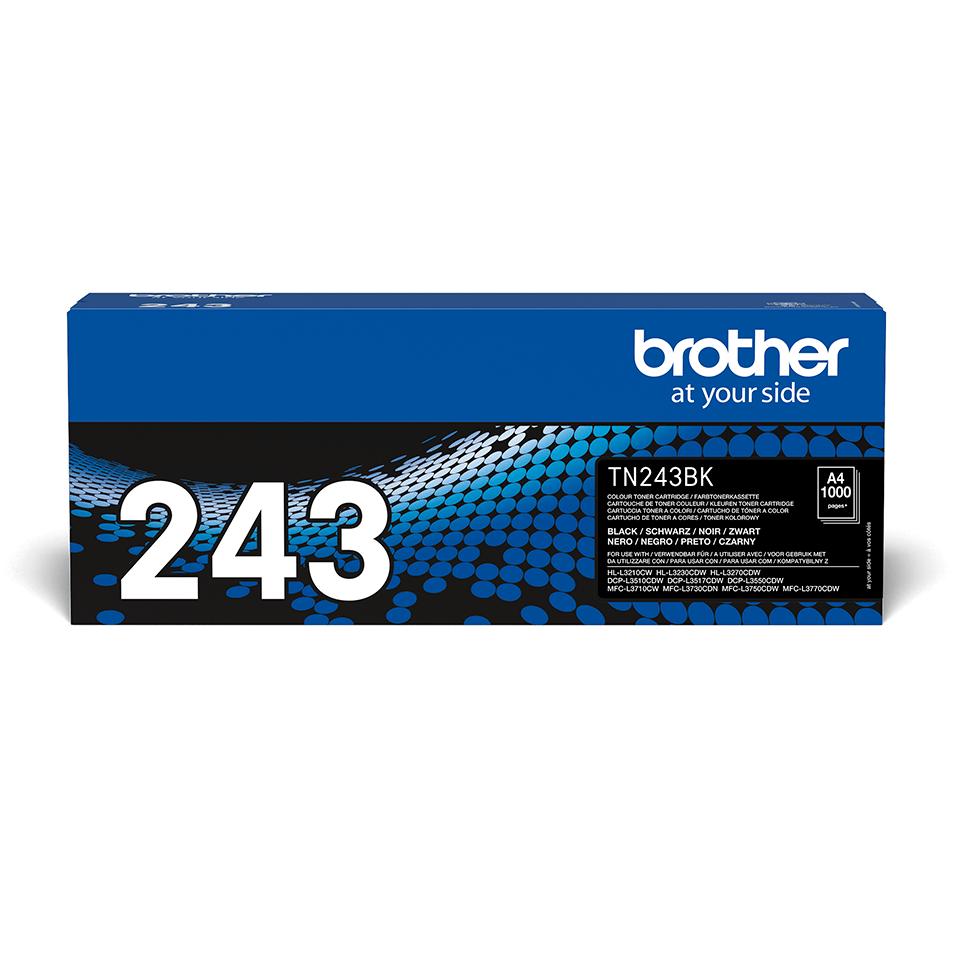 Brotherin alkuperäinen TN243BK-laservärikasetti - Musta