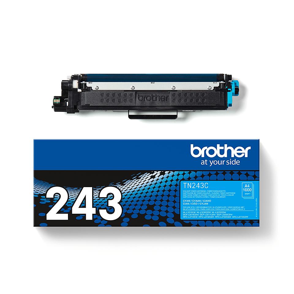 Brotherin alkuperäinen TN243C-laservärikasetti - Syaani 3
