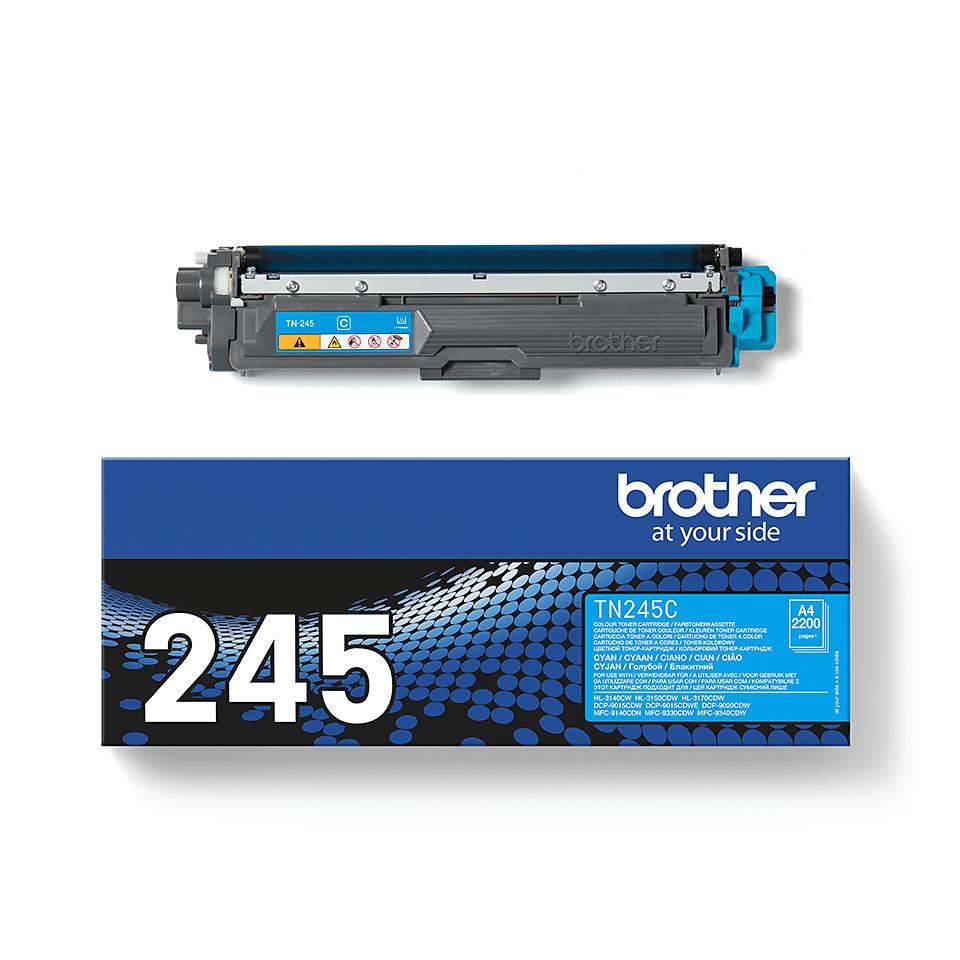Brotherin alkuperäinen TN245C-laservärikasetti - Syaani 2
