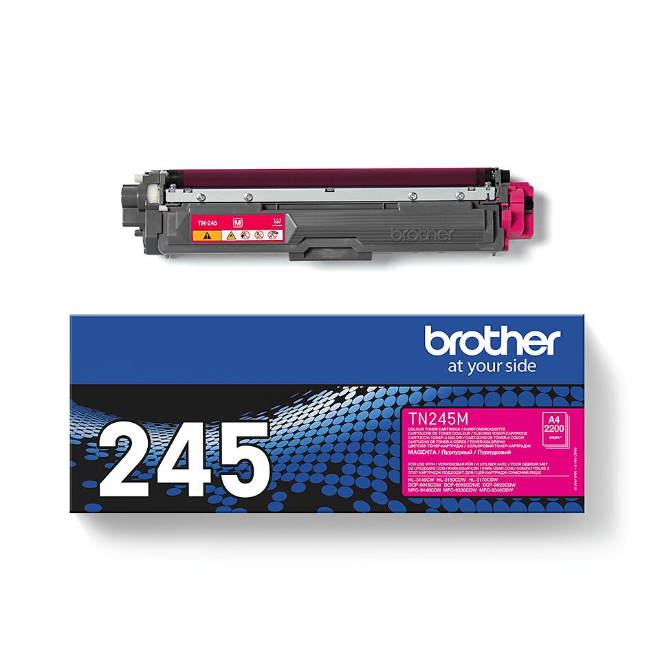 Brotherin alkuperäinen TN245M-laservärikasetti – Magenta 2
