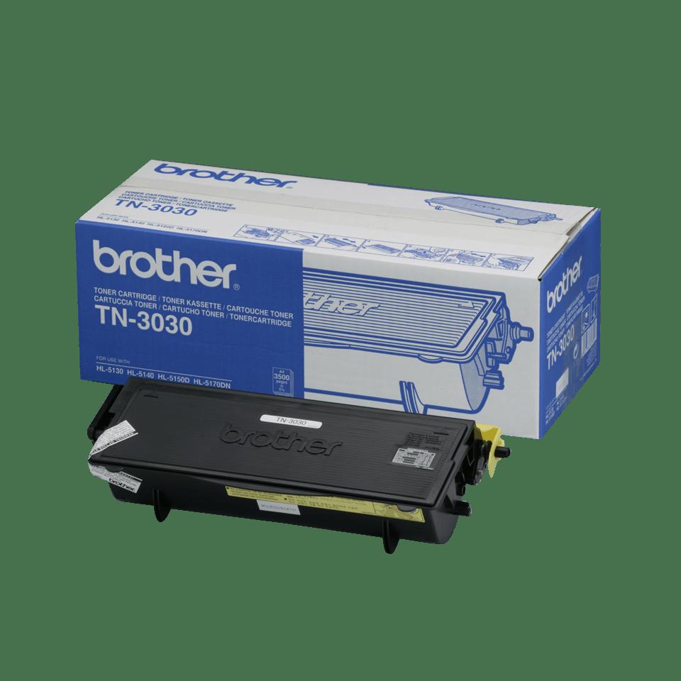 Brotherin alkuperäinen TN3030-laservärikasetti – Musta