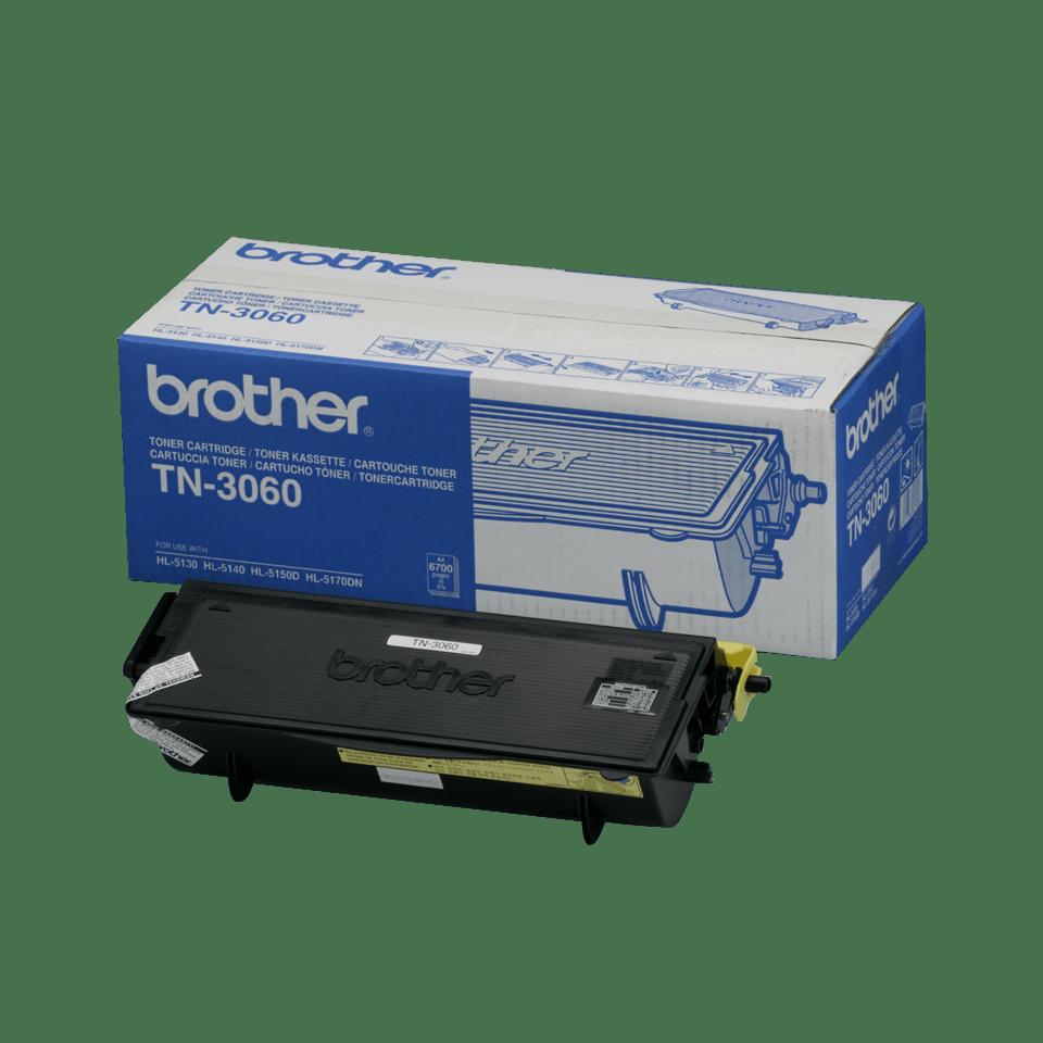 Brotherin alkuperäinen TN3060-suurvärikasetti – Musta