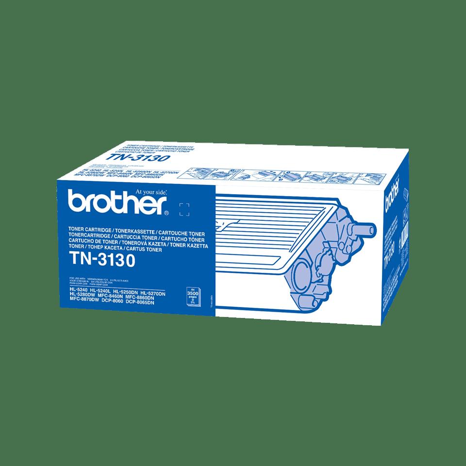 Brotherin alkuperäinen TN3130-suurvärikasetti – Musta