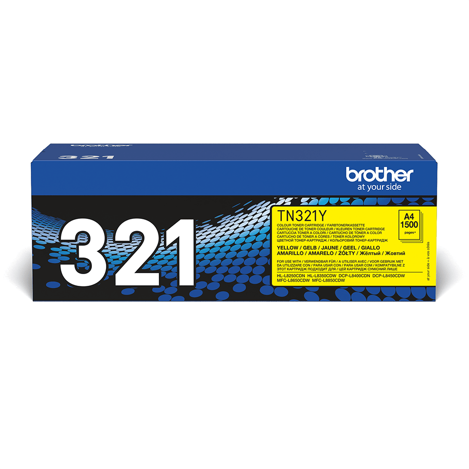 Brotherin alkuperäinen TN321Y-laservärikasetti - Keltainen