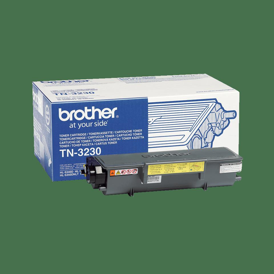 Brotherin alkuperäinen TN3230-laservärikasetti - Musta