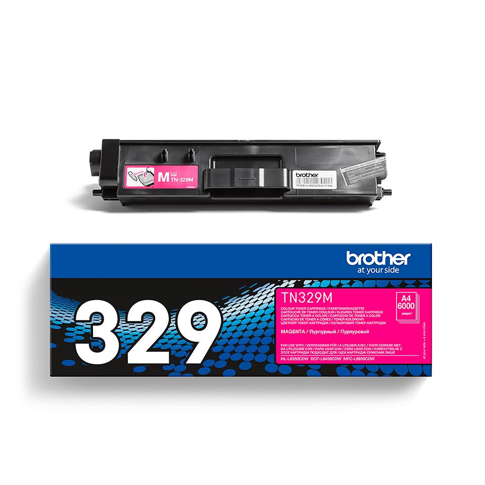 Brotherin alkuperäinen TN329M-laservärikasetti – Magenta 2