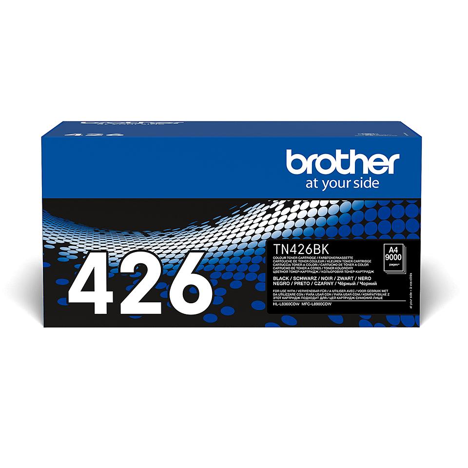 Brotherin alkuperäinen TN426BK-supervärikasetti – Musta 2