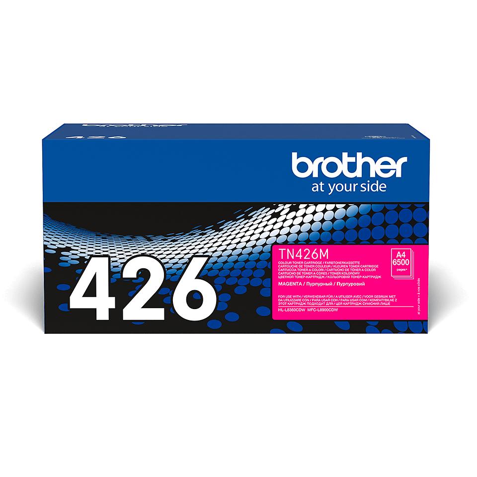 Brotherin alkuperäinen TN426M-supervärikasetti – Magenta 2