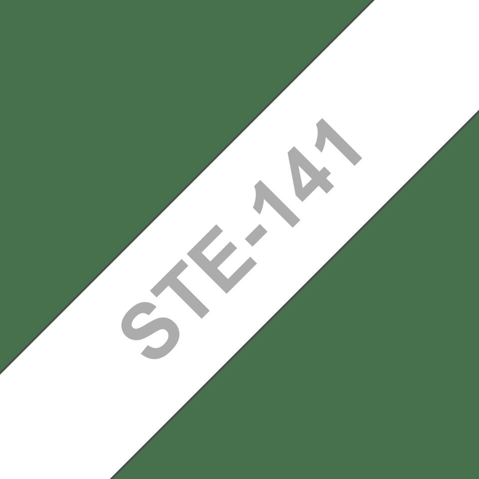 Brotherin alkuperäinen STe141-stensiilinauha - Musta, leveys 18 mm 3