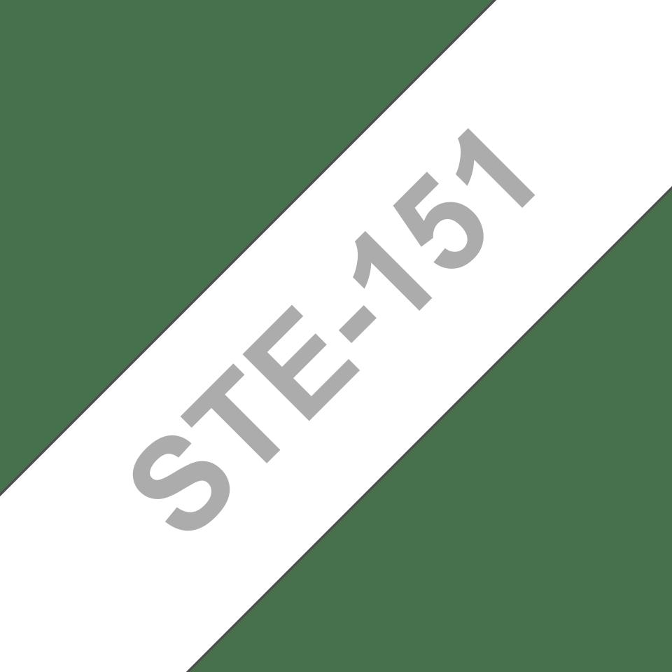 Brotherin alkuperäinen STe151-stensiilinauha - musta, leveys 24 mm