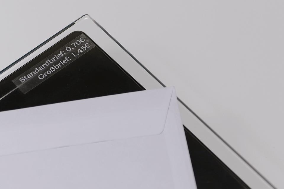 Alkuperäinen Brother TZe135 -tarranauha – valkoinen teksti kirkkaalla pohjalla, 12 mm 4
