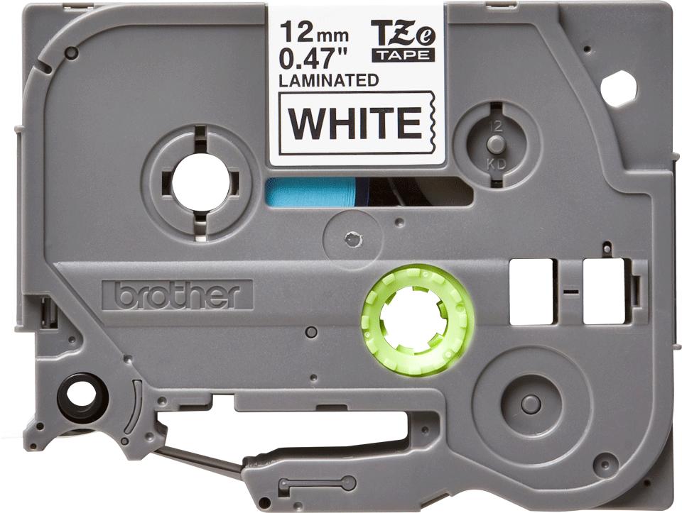 Alkuperäinen Brother TZe231 -tarranauha – musta teksti valkoisella pohjalla, 12 mm 2