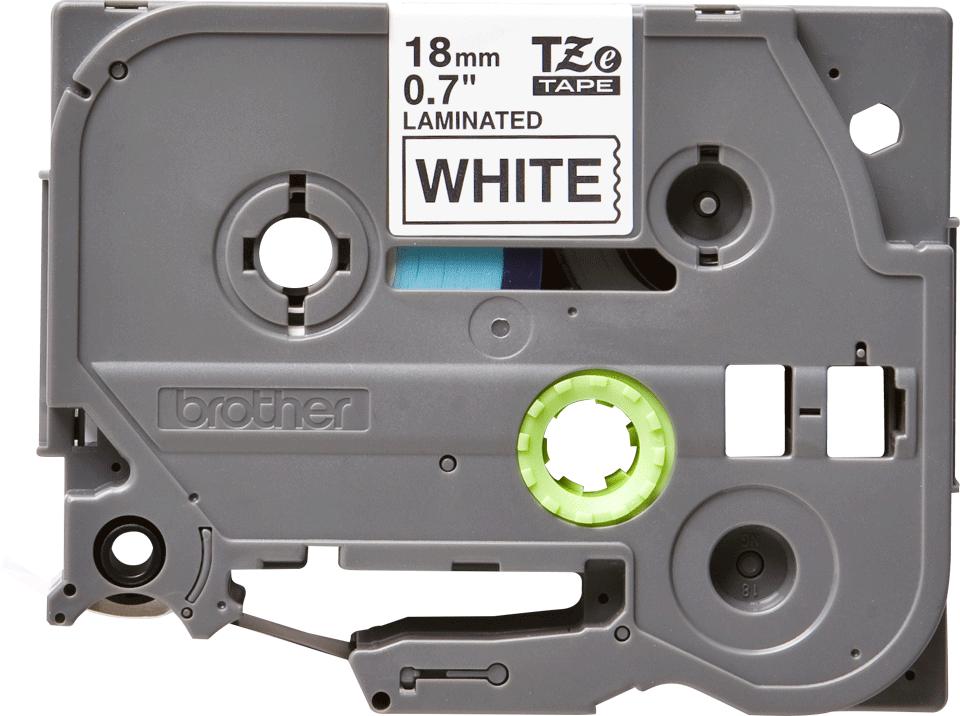 Alkuperäinen Brother TZe241-tarranauha – musta teksti valkoisella pohjalla, 18 mm  2
