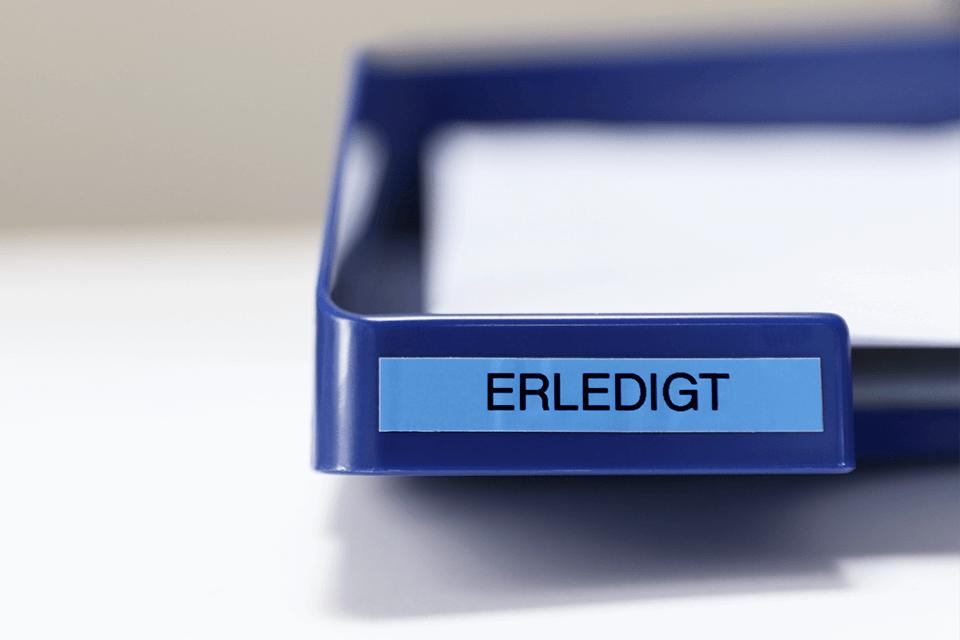 Alkuperäinen Brother TZe521 -tarranauha – musta teksti sinisellä pohjalla, 9 mm 4